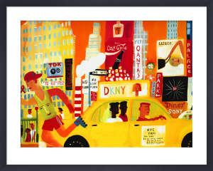 NYC Yellow Cab by Christopher Corr