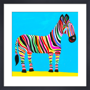 Rainbow Zebra by Christopher Corr