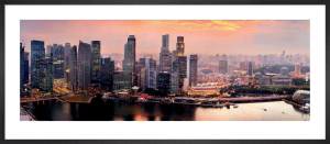 Singapore Sunset by Joyfull