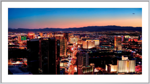 Las Vegas Strip by Songquan Deng