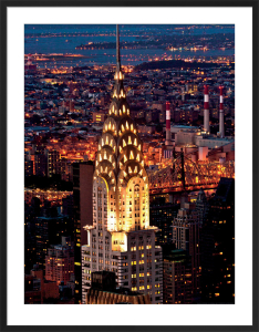 Chrysler Building at Night by Jorg Hackemann