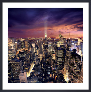 Big Apple after Sunset by Ilja Masik