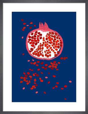 Indigo Pomegranate by Ana Zaja Petrak