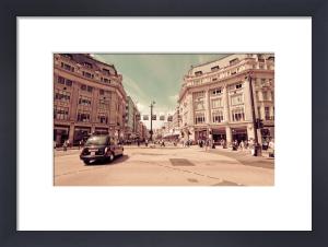 Regent Street Cab by Keri Bevan
