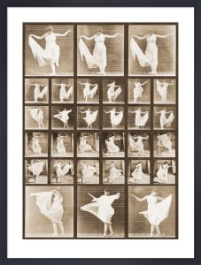Fancy Dancing by Eadweard Muybridge