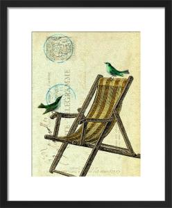 Deckchair Birds by Marion McConaghie