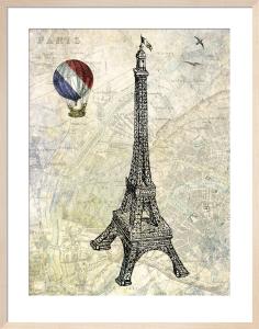 Eiffel Map by Marion McConaghie