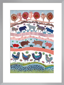 Farmyard by Jane Robbins