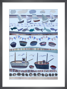 Seashore & Boats by Jane Robbins