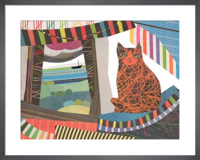 Window Cat by Jane Robbins
