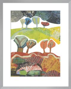Rocky Trees by Jane Robbins