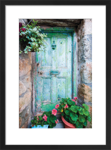 Cornish Doorway by Scott Dunwoodie