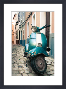 Menorca Vespa by Scott Dunwoodie