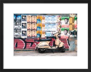 Seville Vespa by Scott Dunwoodie