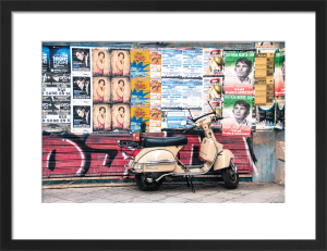 Seville Vespa by Scott Dunwoodie