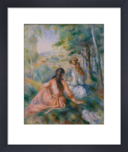In the Meadow by Pierre Auguste Renoir