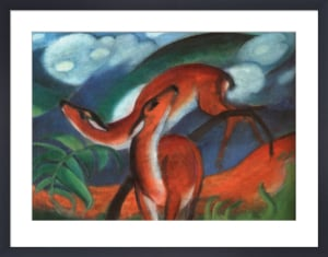 Red Deer II by Franz Marc