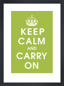 Keep Calm (kiwi) by Vintage Repro