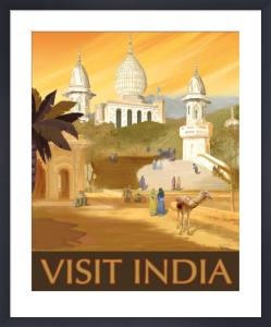 Visit India by Kem McNair