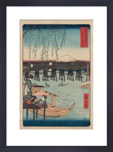 Ryogoku by Utagawa Hiroshige I
