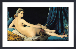 The Grand Odalisque, 1814 by Jean-Auguste-Dominique Ingres