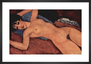 Nu couche (Reclining Nude) by Amedeo Modigliani