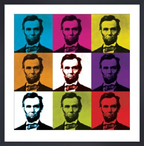 Abraham Lincoln by Celebrity Photo