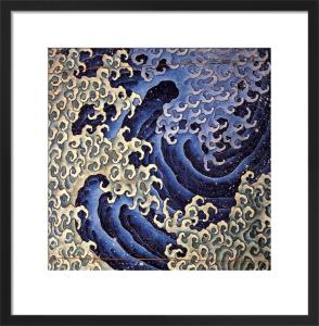Masculine Wave by Katsushika Hokusai