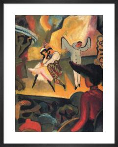 Russian Ballet by August Macke