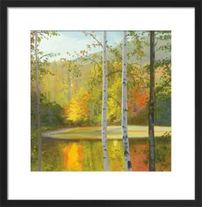 Cooper Lake, Autumn by Elissa Gore