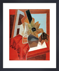 Flowers on the Table by Juan Gris
