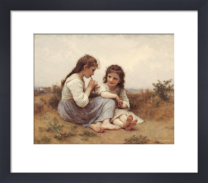 A Childhood Idyll by Adolphe William Bouguereau