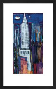 New York Skyline by Mark Gleberzon