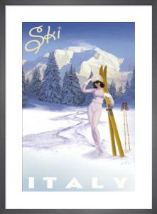 Ski Italy by Kem McNair
