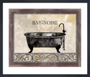 Bath Silhouette I by NBL Studio