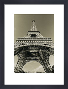 Eiffel Tower Looking Up by Christian Peacock