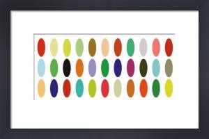 Paint Box Graphic I by Dan Bleier