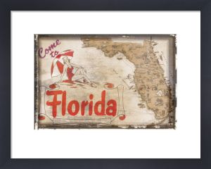Come to Florida by Vintage Vacation