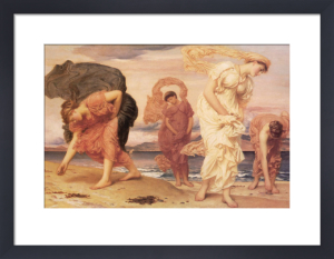 Greek Girls Picking up Pebbles by Lord Frederic Leighton
