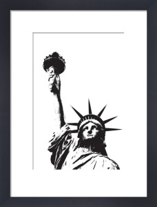 Statue of Liberty (outline) by Erin Clark