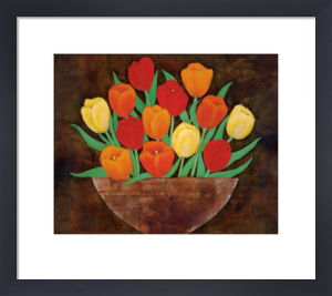 Tasteful Tulips by Rachel Rafferty
