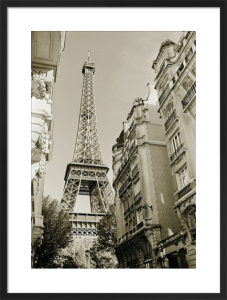 Eiffel Tower Street View #1 by Christian Peacock
