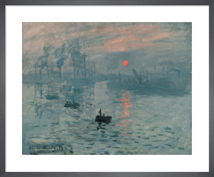 Impression, Sunrise by Claude Monet