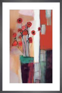 Flowers at Home by Nancy Ortenstone