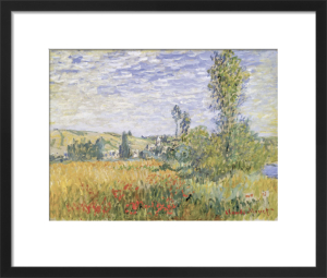 Landscape at Vetheuil by Claude Monet