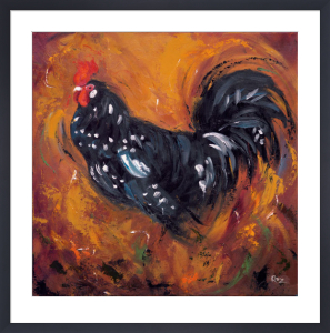 Rooster #500 by Roz