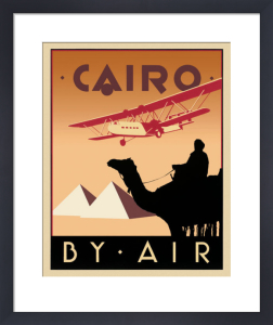 Cairo by Air by Brian James