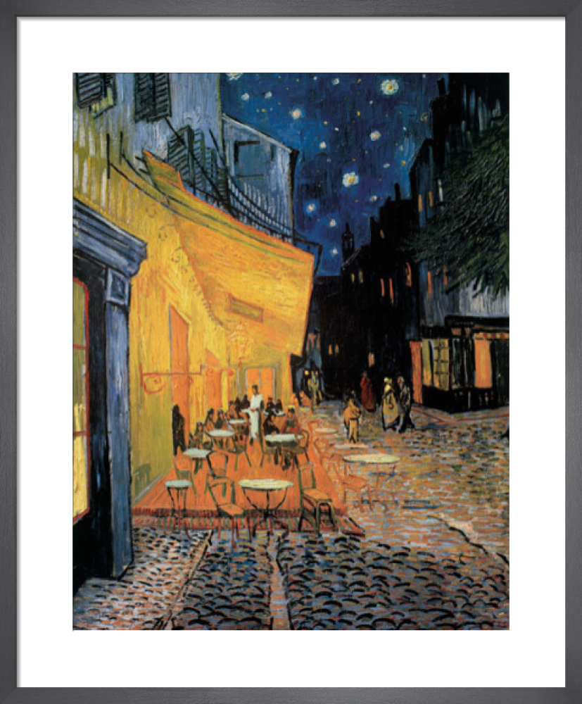 Cafe Terrace At Night Art Print By Vincent Van Gogh King