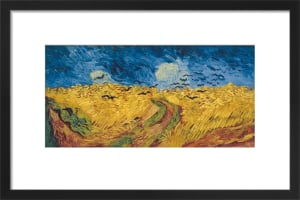 Wheatfield with Crows, 1890 by Vincent Van Gogh