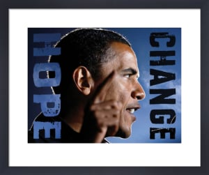 Barack Obama: Hope, Change by Celebrity Photo